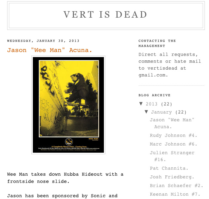 vert_is_dead