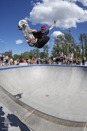 Ginger - Go High or die @ Värnamo skatepark - Betongcupen